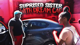 SURPRISING MY LITTLE SISTER WITH HER DREAM CAR !!!!