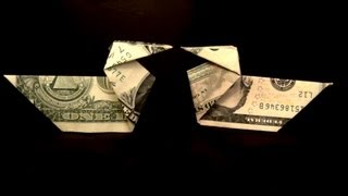 Dollar Origami Duck Tutorial How To Make A Dollar Duck