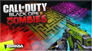 INSANE PACMAN ZOMBIES MAP! (Black Ops 3 Custom Zombies)