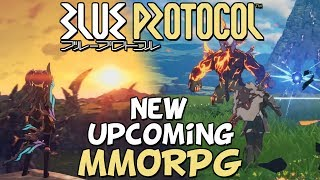 What Is Blue Protocol? - New Upcoming MMORPG Fantasy / Anime