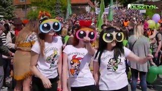 Parada Wydziałów studentów UWM -  Olsztyn 19.05.2016