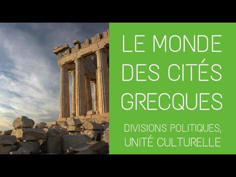 6ème  - Le monde des cités grecques : divisions politiques, unité culturelle
