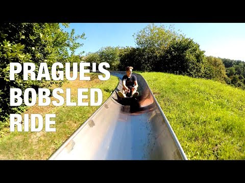 PRAGUE BOBSLED RIDE