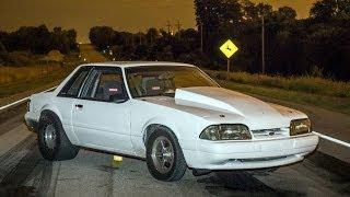 1200hp TT Fox Body DOMINATES the streets!