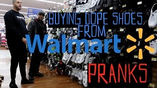 Buying Cool Shoes At Walmart