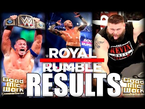 WWE Royal Rumble 2017 RESULTS AND REACTION