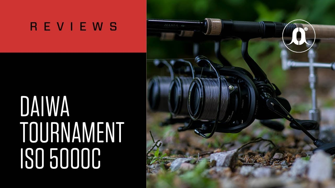 dacc4c413a0 CARPologyTV - Daiwa Tournoment ISO 5000C Reels Review - YouTube