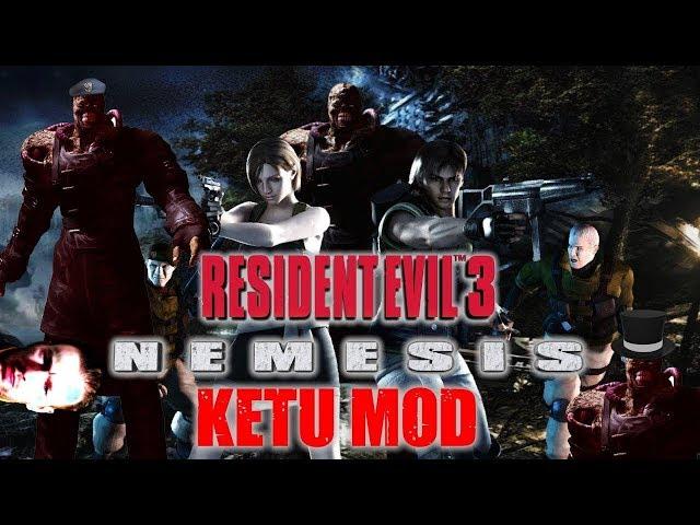Resident Evil 3 Nemesis - El Mod mas difícil de RE3 (KETU MOD)  - PC
