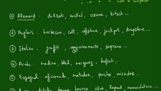 Logique - MOTS - Méthode n°12 - Mots étrangers