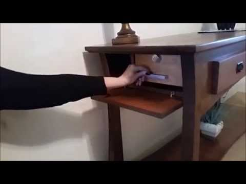 gun concealment furniture by top secret furniture secret hidden compartment youtube