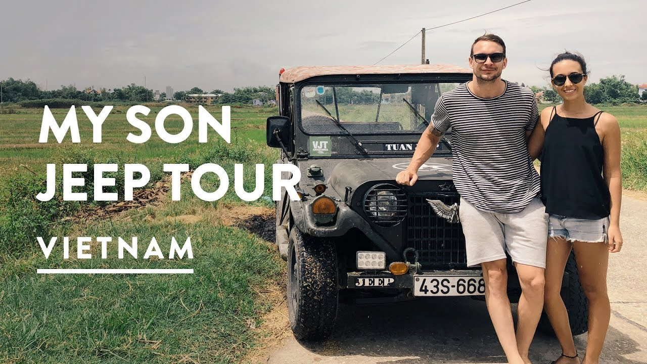 My Son Hoi An Jeep Adventures Unesco Sanctuary Temple Tour Vietnam Travel Vlog 077 2017 Youtube