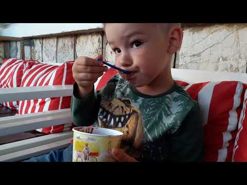 VLOG GREECE. Ice Creame. Кушаем самое вкусное мороженое