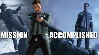 "Detroit Become Human - Untouchable Connor AKA John Wick? - (""I Always Accomplish My Mission"")"