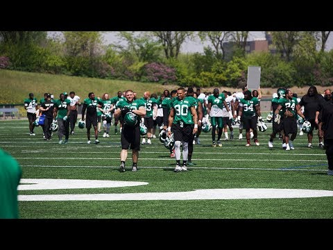 Chris Jones talks about Day 3 of Roughriders training camp