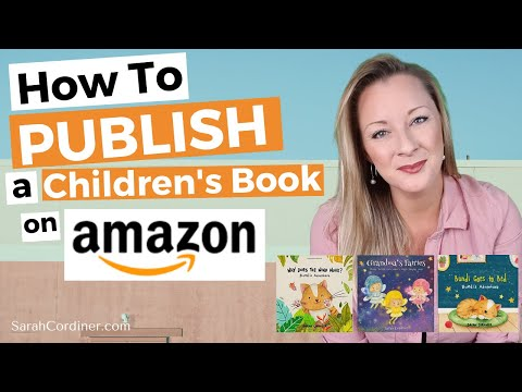 How To PUBLISH a Children's Book on AMAZON in 10 MINUTES!