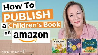 How To PUBLISH a Children's B๐ok on AMAZON in 10 MINUTES!