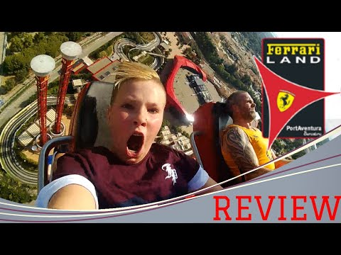 REVIEW FERRARI LAND SPANJE SALOU