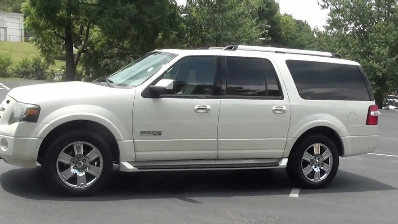 For sale 2007 ford expedition el limited 1 owner stk p6262 www lcford com youtube
