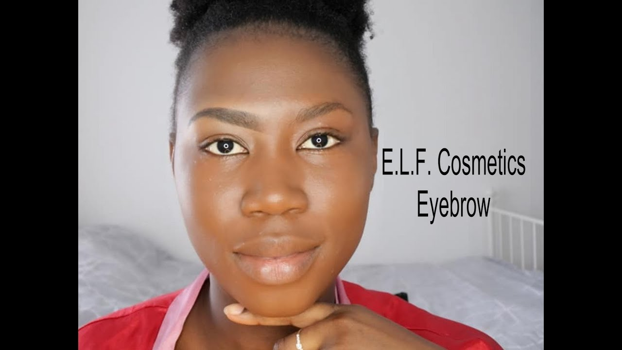 HOW TO: how i do my eyebrows | ELF Brow Pencil Deep Brown ...