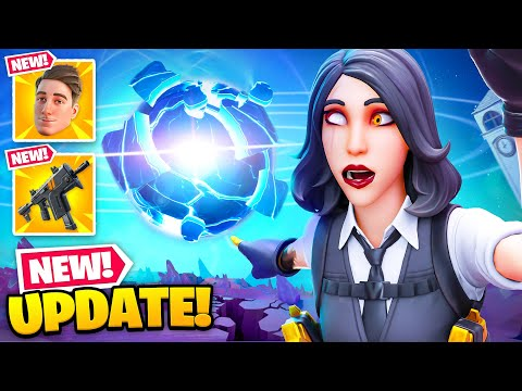 *NEW* LIVE EVENT UPDATE in Fortnite! (New Icon Skin, Unvaulted Gun + MORE) - Ali-A