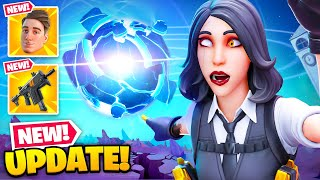 *NEW* LIVE EVENT UPDATE in Fortnite! (New Icon Skin, Unvaulted Gun + MORE)