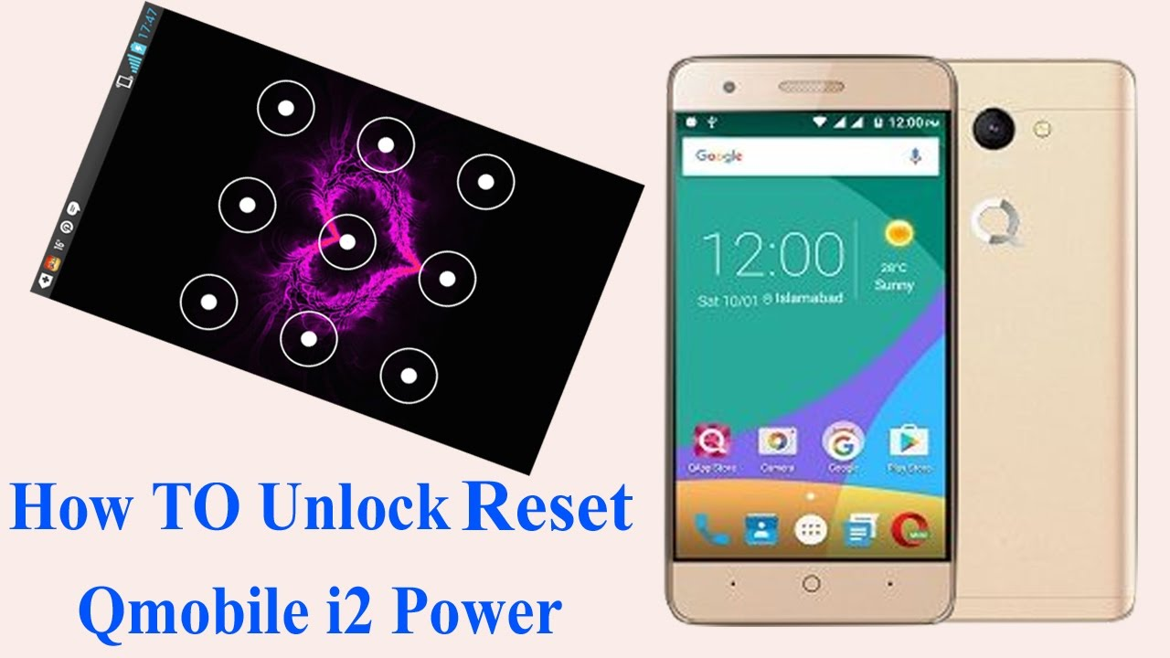 How to Unlock password hard Reset Qmobile  i2,poweri3,i4,i5,i6,i6i,i7,i7i,i8i,i9i,