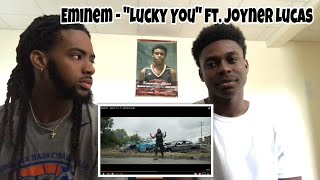 "Eminem - ""Lucky You"" ft. Joyner Lucas Reaction"