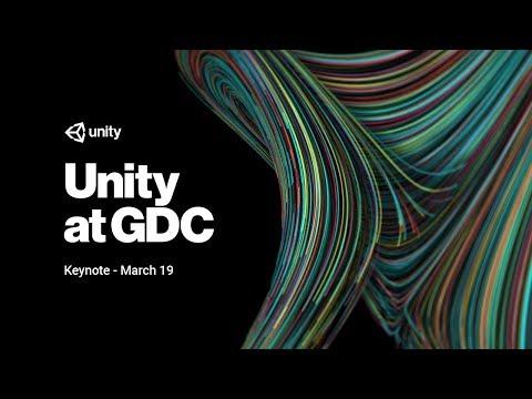Unity at GDC Keynote - March 19, 2018
