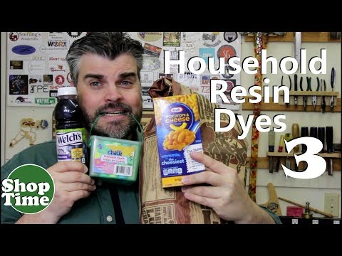Household Alternatives to Resin Dyes 3!