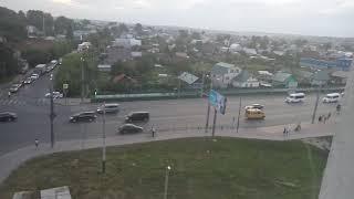 Пензенец заснял уезжающий из Пензы кортеж Дмитрия Медведева
