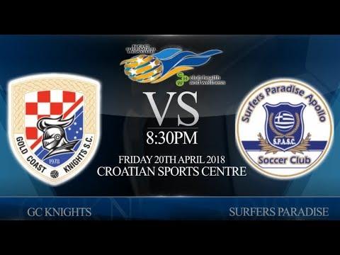FGC CHW Premier League rnd 1 GC Knights vs Surfers Paradise (2-1)