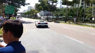 Lamborghini Club Singapore Charity Convoy