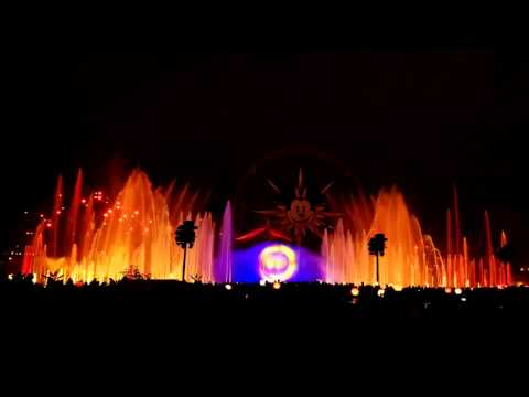 World of Color HD full show VIP area. With Lunar New Year pr