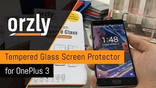 Orzly - OnePlus 3/3T 2.5D Tempered Glass Screen Protector VERSION 2