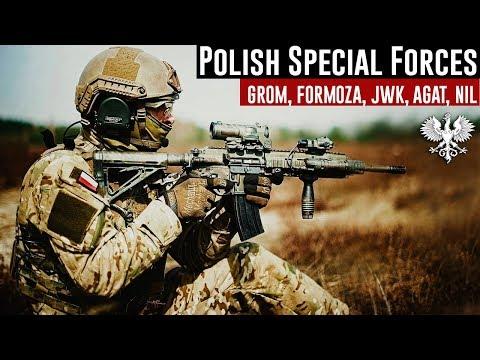 Polish Special Forces 2018 • GROM / JWK /  FORMOZA / AGAT / NIL