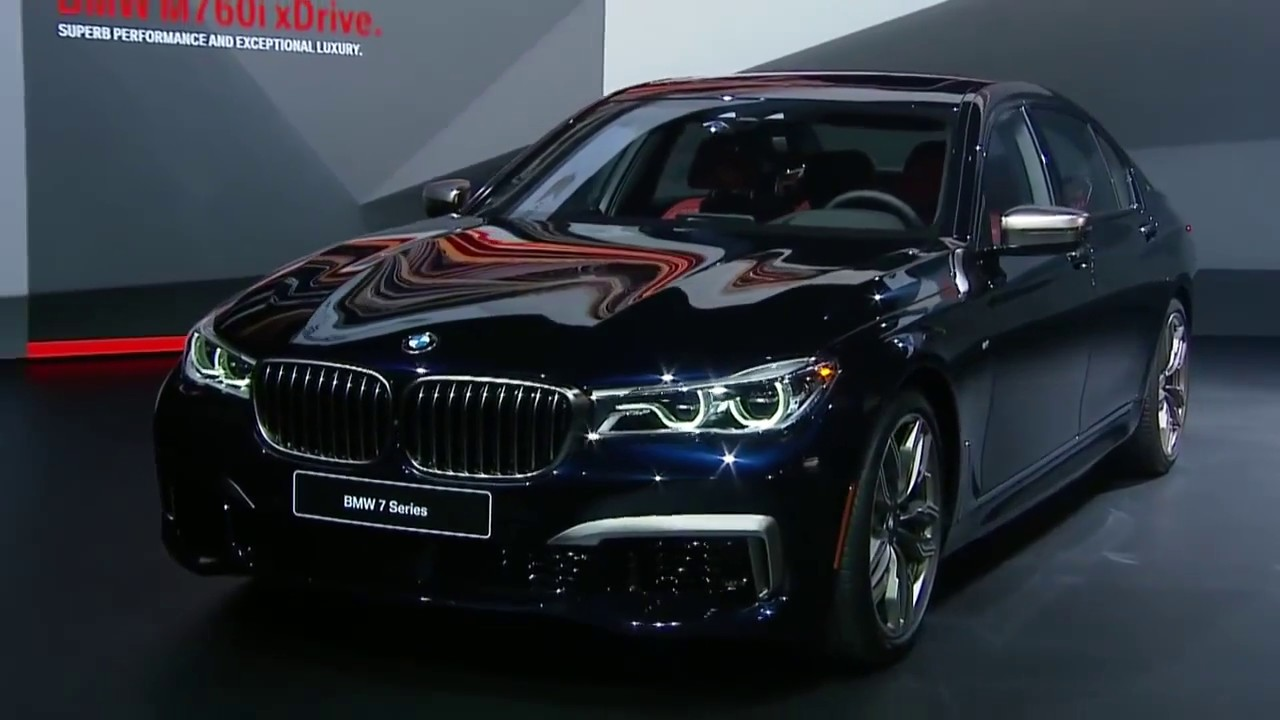 2018 bmw 7 series m760i top 5 fastest luxury cars youtube. Black Bedroom Furniture Sets. Home Design Ideas