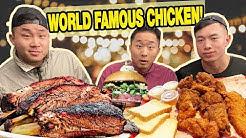 The BEST TEXAS BBQ, Fried Chicken, Burgers FOOD TOUR! - Austin, TX