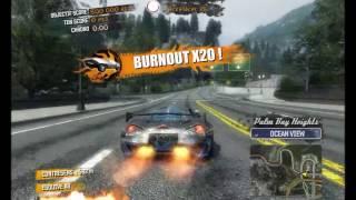 20M Record Séquence cascade Burnout Paradise Ultimate PC