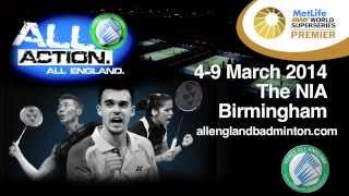 yonex all england open badminton championships 2014 official trailer short edit