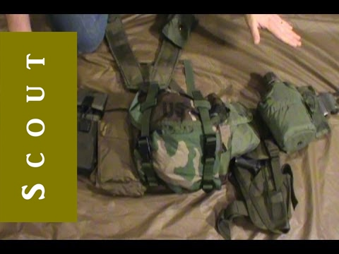 Army LBE Survival or Bug Out Belt Project - Scout Prepper