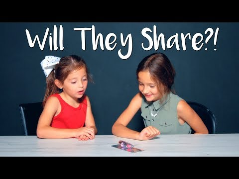 WILL THEY SHARE?! - WHICH SISTER GETS THE ONLY PRIZE?