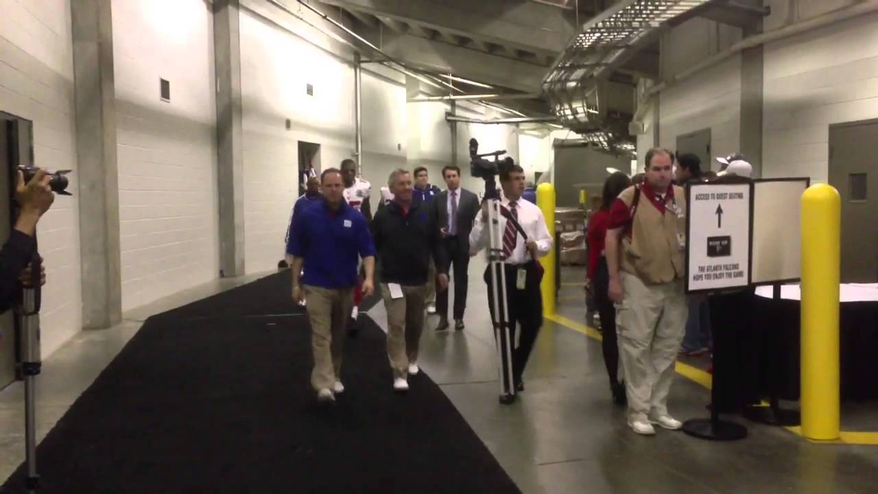 Atlanta Falcons Locker Room