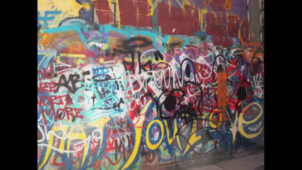 Graffiti wall ann arbor - Ann Arbor Graffiti Alley Walkthrough