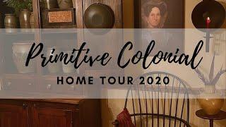 Primitive Colonial Home Tour   Inspirational Homes Series 2020   Episode 2