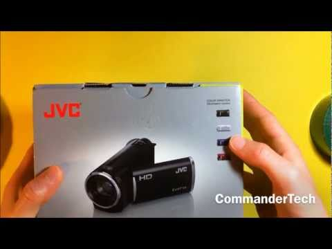 JVC HD Flash Camcorder (GZ-HM30) Unboxing