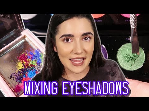 Thumbnail: Mixing All My Eyeshadows Together