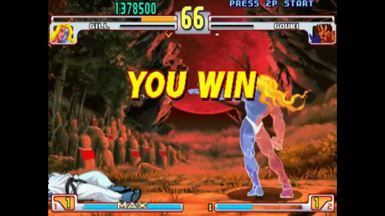 87 street fighter iii third strike boss hack 1 2 gill playthrough youtube. Black Bedroom Furniture Sets. Home Design Ideas