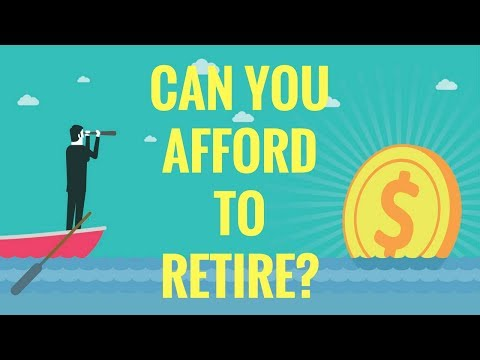 Can YOU Afford to Retire? | 4% Rule Explained | Safe Withdrawal Rate