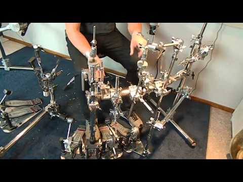 Tour of Thomas Lang's drum kit 2015 PART 3