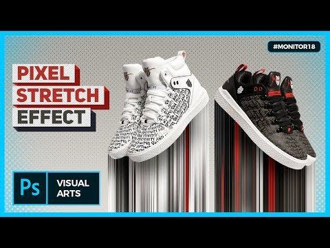 CIRCULAR STRETCH EFFECT / PIXEL STRETCH EFFECT PHOTOSHOP TUTORIAL (1) | #MONITOR18 thumbnail
